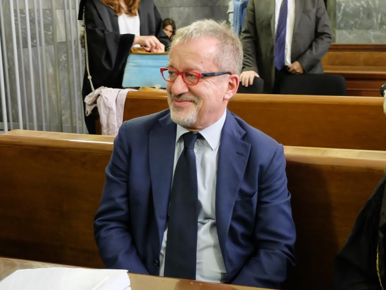 L'ex presidente di Regione Lombardia Roberto Maroni