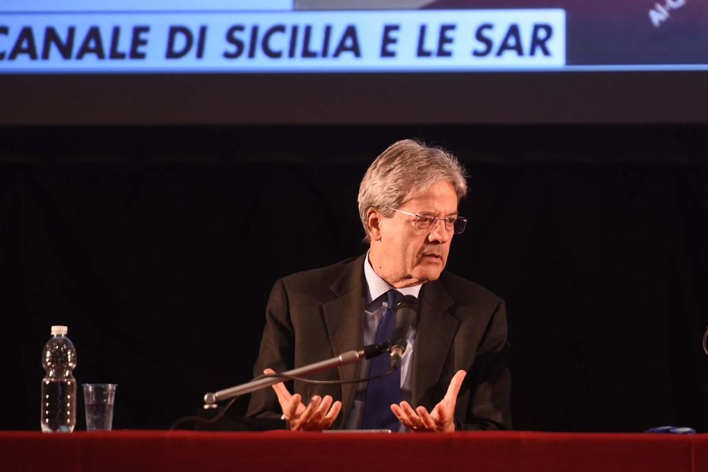 L'ex premier italiano Paolo Gentiloni