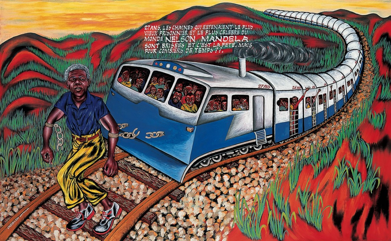 Cheik Ledy, Nelson Mandela (1990)