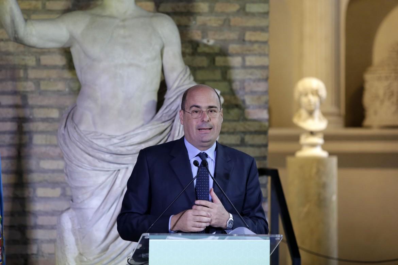 Nicola Zingaretti, presidente del Lazio e candidato alle primarie Pd