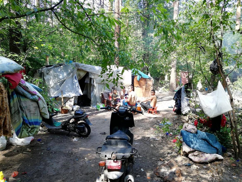 Il pogrom dei rom nel parco Goloseyevsky di Kiev