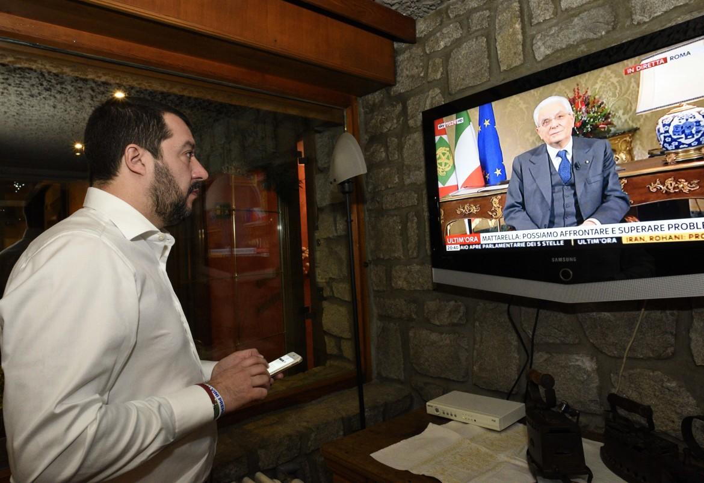 Salvini e il capo dello stato