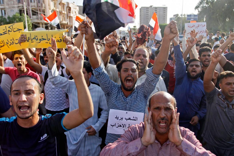 Le proteste di queste settimane a Najaf