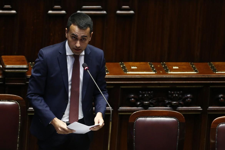Il vicepremier, ministro del lavoro e sviluppo Luigi Di Maio