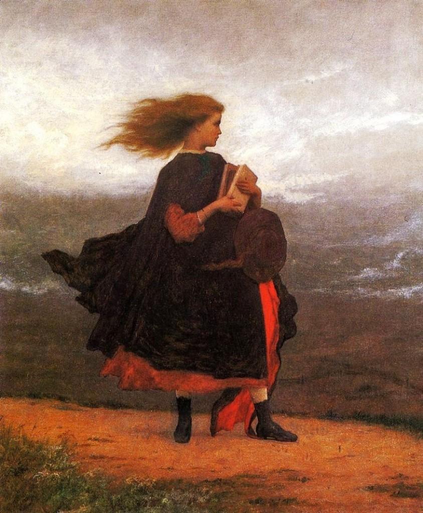 Eastman Johnson, «The Girl I Left  Behind Me», 1870–1875, Smithsonian Art Museum