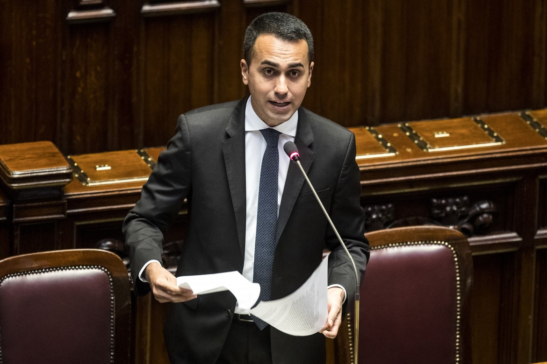 Il vicepremier, ministro del lavoro e dello sviluppo Luigi Di Maio