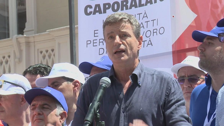 Stefano Mantegazza, segretario generale della Uila-Uil