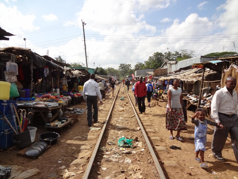 La baraccapoli di Kibera, a Nairobi, sgomberata dalle autorità per far spazio a una nuova strada