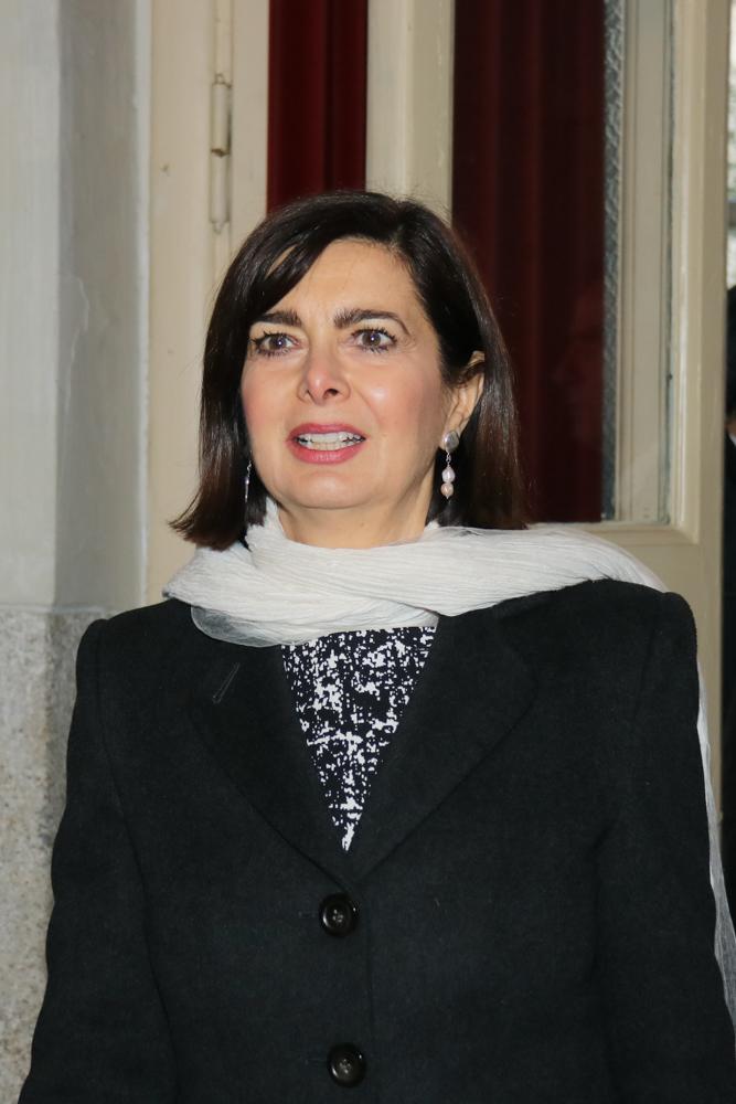 Laura Boldrini, deputata di Leu