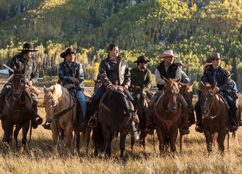 Una scena da «Yellowstone»