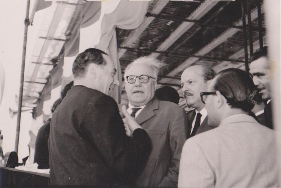 Al centro, Girolamo Li Causi