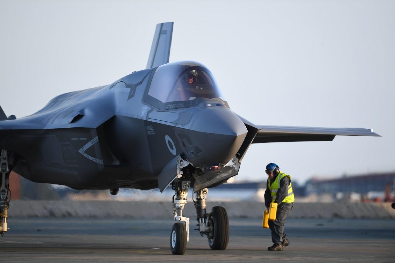 Il caccia di progettazione Usa F35 Joint Strike Fighter