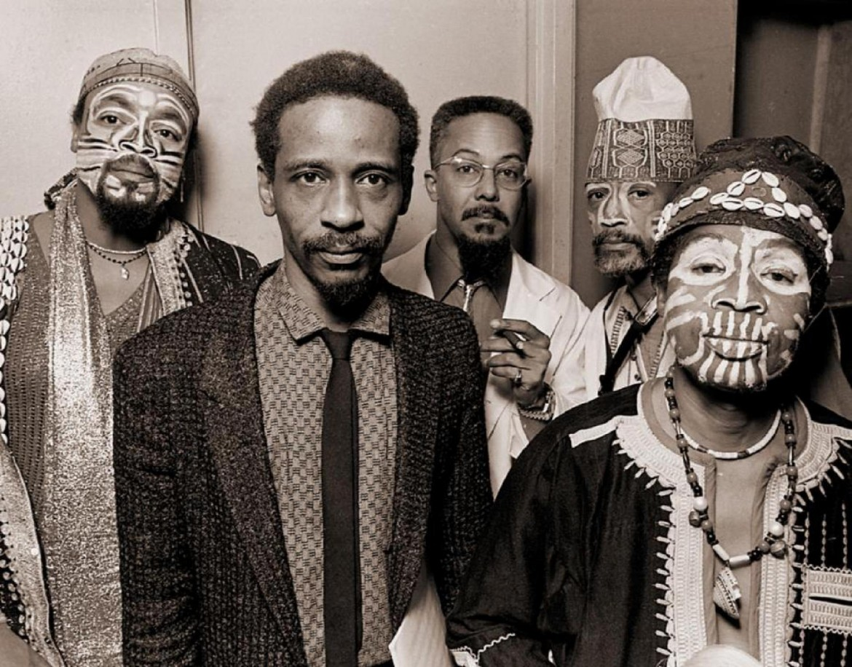 Un'immagine storica dell'Art Ensemble of Chicago, costituitosi nel 1966