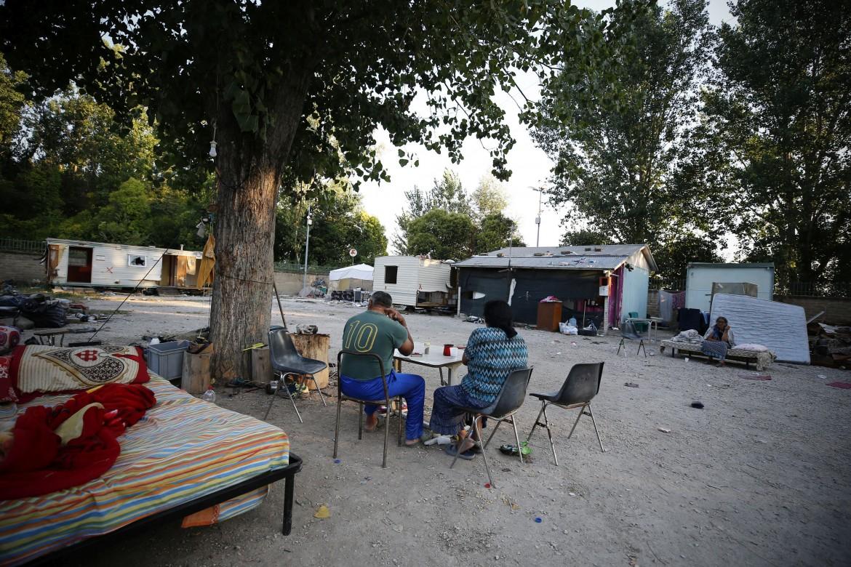 Il Camping River sulla via Tiberina a Roma