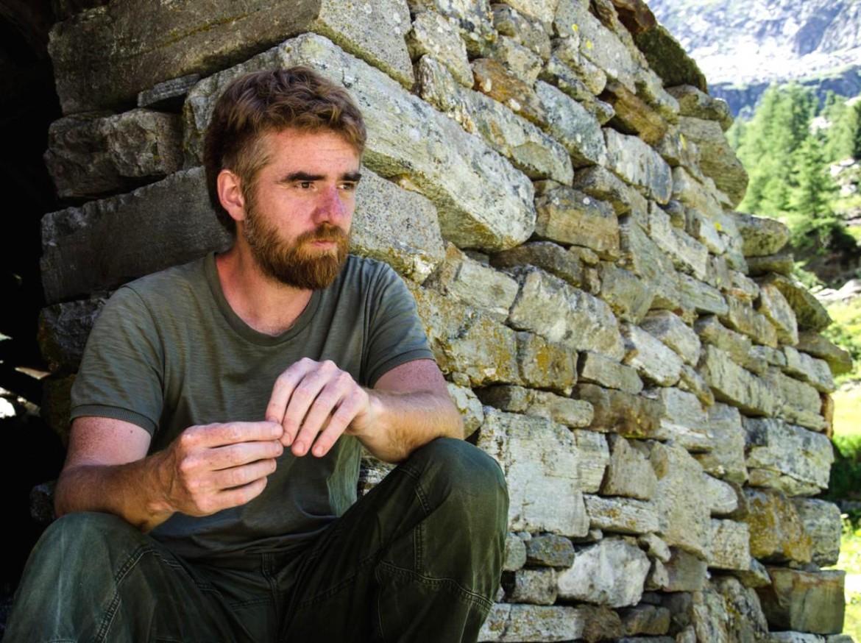 Lo scrittore Paolo Cognetti