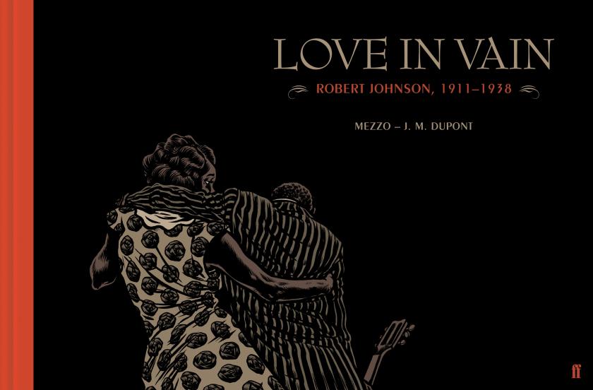 La copertina di «Love in Vain» con i disegni di Mezzo