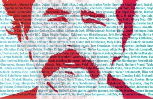 U'immagine tratta dalla campagna per la liberazione di Deniz Yücel