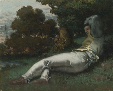 Gustave Courbet, «La Sieste», 1841-42