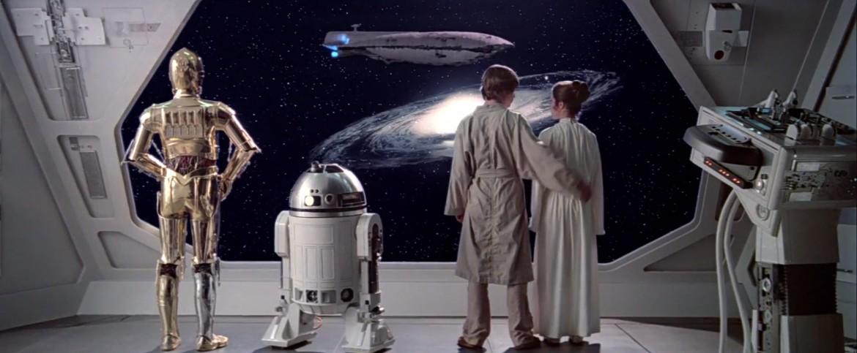 Un'immagina da L'impero colpisce ancora del 1980