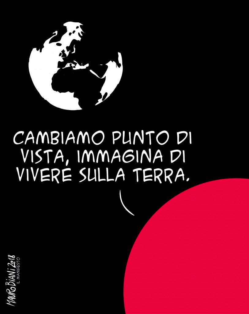 La vignetta di Mauro Biani