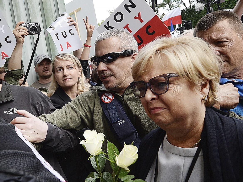 La presidente della Corte suprema polacca Malgorzata Gersdorf