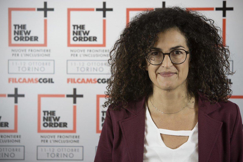 Maria Grazia Gabrielli, segretaria Filcams Cgil