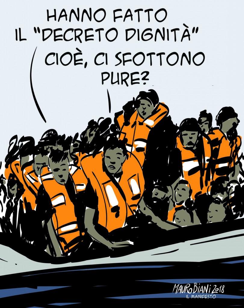 Dignità e migranti