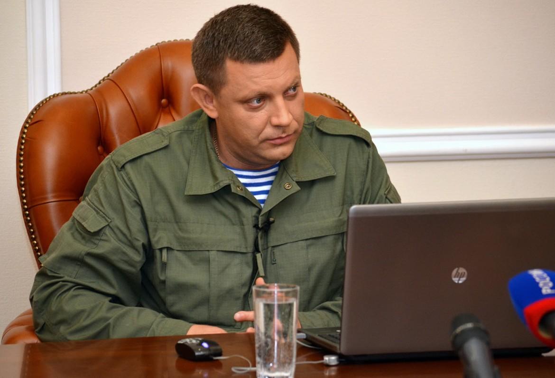 Alexander Zacharchenko, presidente dell'autoproclamata «Repubblica popolare del Donbass»