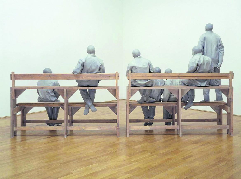 Juan Muñoz, «Towards the Corner», 1998