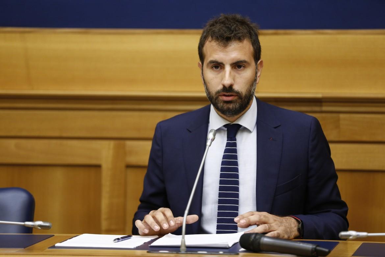 Il deputato di Leu, Erasmo Palazzotto