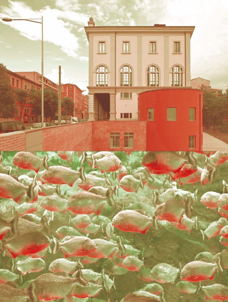 L'immagine-guida della mostra è di Federico Antonini