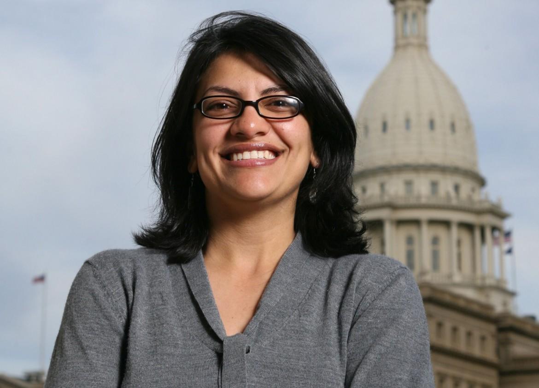 La palestinese-statunitense Rashida Tlaib candidata al Congresso per i democratici in Michigan