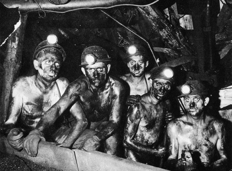 Lavoratori italiani a Marcinelle