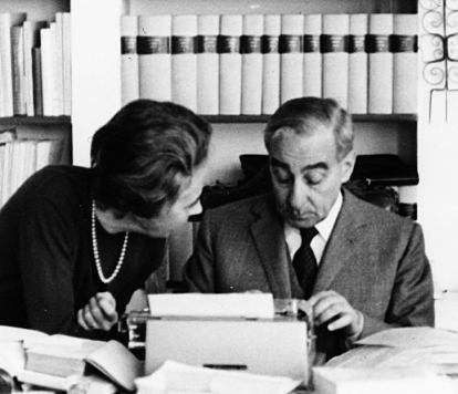 Salvatore Satta e Laura Boschian