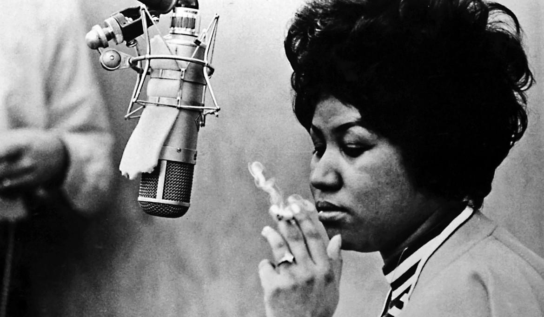 Aretha Franklin in uno scatto anni '60