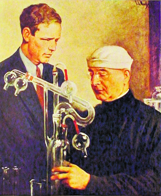 Charles Lindbergh e Alexis Carrel sulla copertina di «Time» (1938)