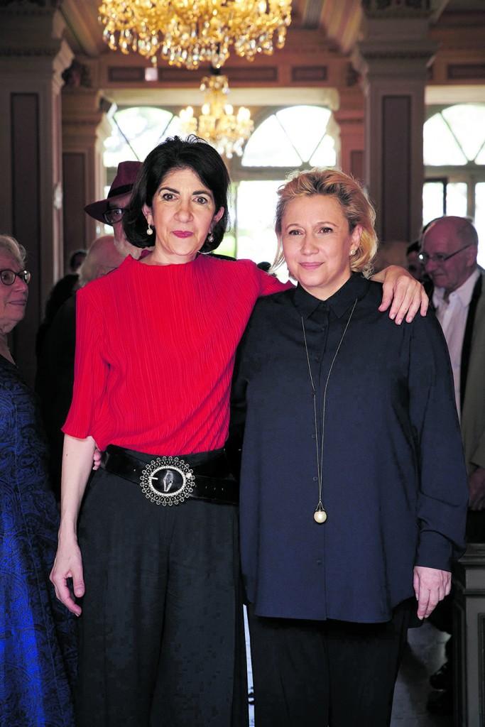 Fabiola Gianotti e Maria Teresa venturini Fendi a Spoleto 61