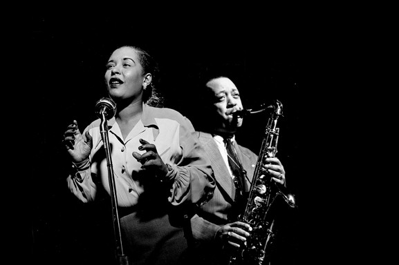 Billie Holiday e Lester Young