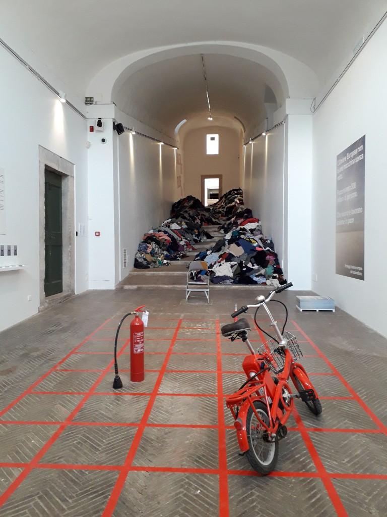 Installazione di Boltanski all'Accademia di Francia