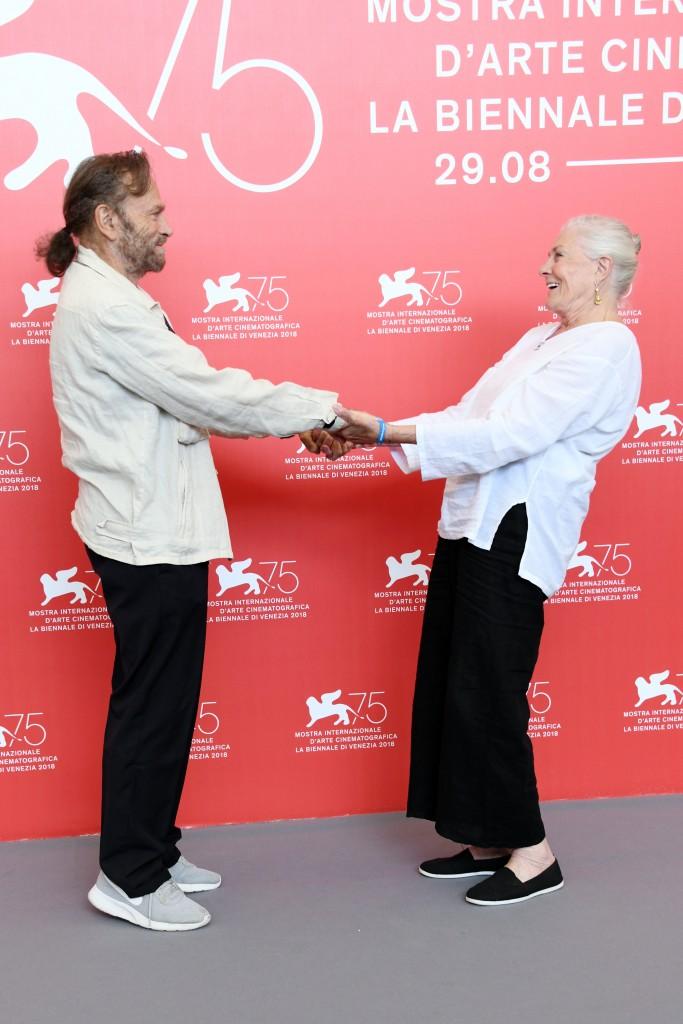 Vanessa Redgrave al Festival con il marito Franco Nero