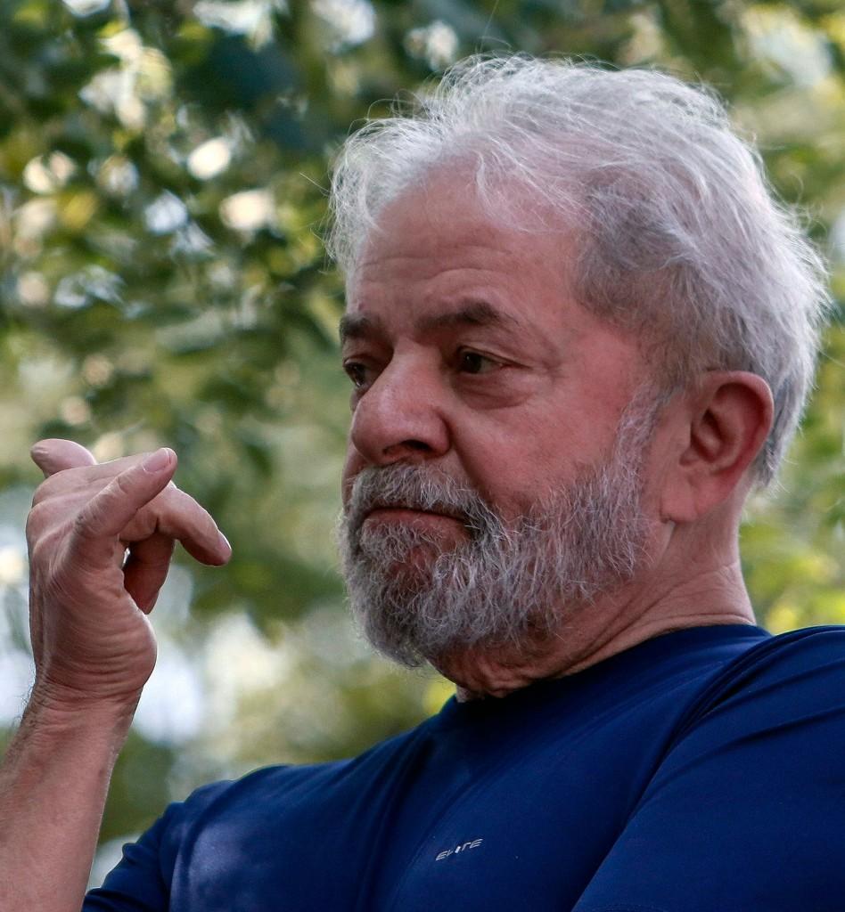 L'ex presidente brasiliano, ora in carcere, Lula