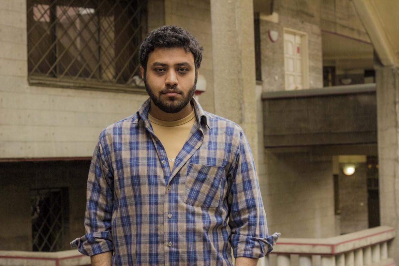 Lo scrittore iraniano Mehdi Asadzadeh