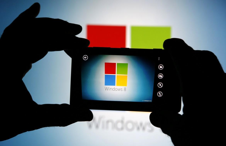Il logo della Microsoft, fondata da Bill Gates e Paul Allen