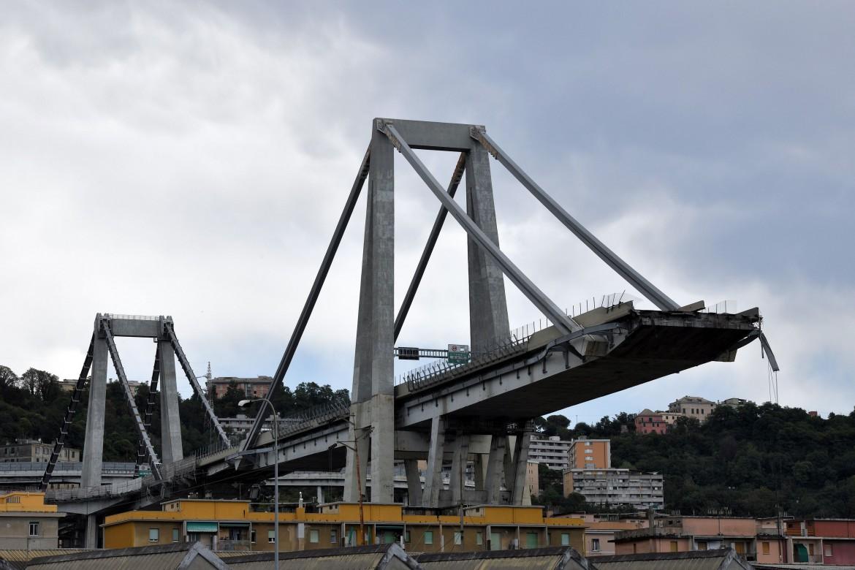 Ponte Morandi dopo il crollo