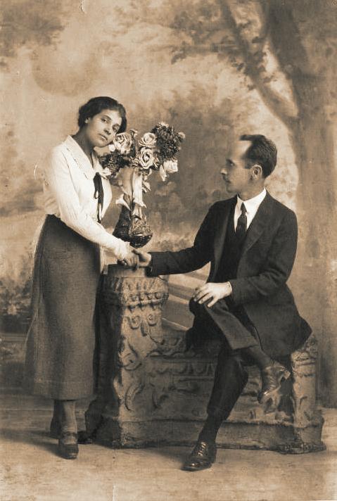 Tina Modotti e Edward Weston, 1924