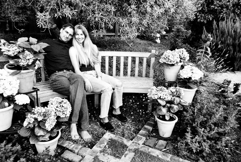 Steve Jobs e Laurene Powelll