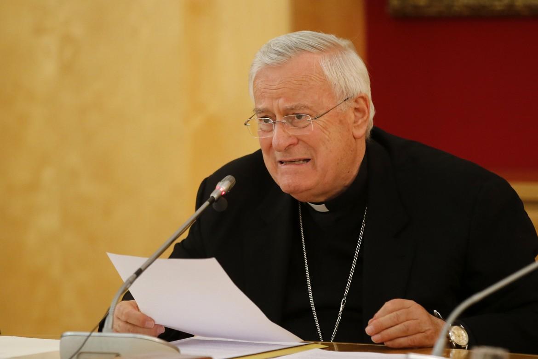 Il presidente della Cei Gualtiero Bassetti