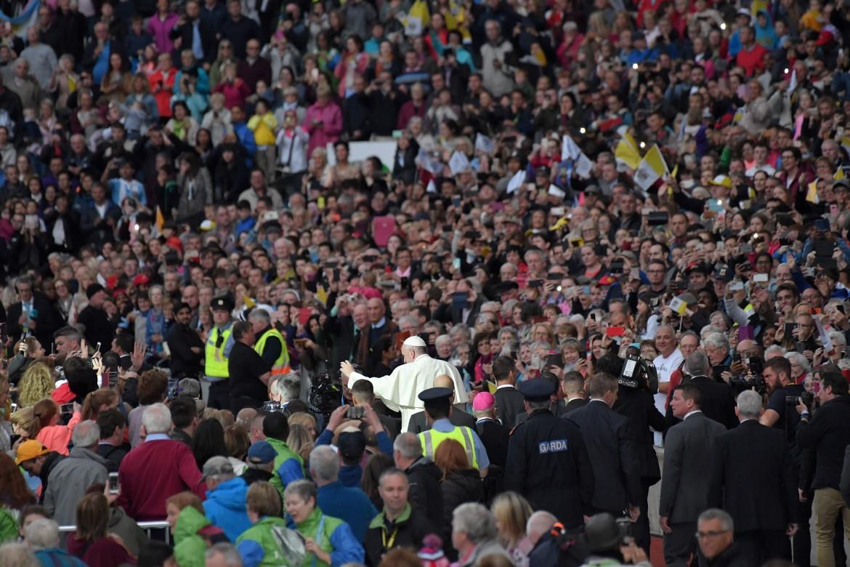 Papa Francesco al Festival delle Famiglie a Dublino, lo scorso fine settimana