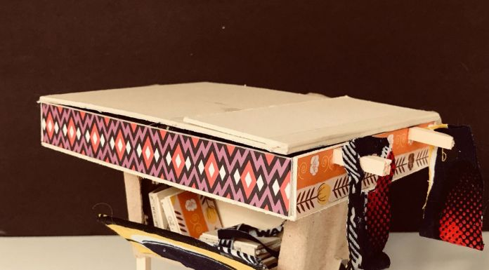 Maria Chiara Calvani, modellino del dispositivo per le erbenasagonando