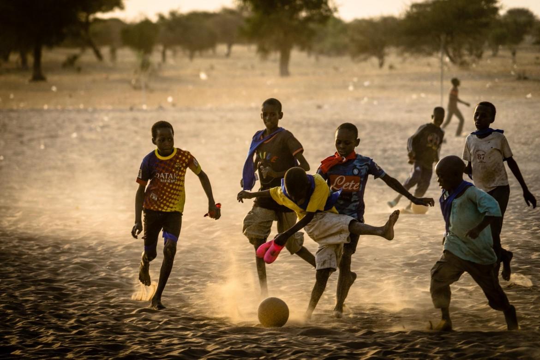Bambini in Ciad
